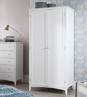 Edward Hopper Grande Blanc, Armoire Double, qualité Armoire 2Portes avec penderie et Shlelf