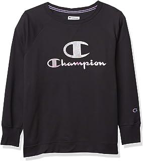Champion Women's Plus-Size Powerblend Boyfriend Crew Sweater