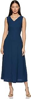 Amazon Brand - Symbol Crepe wrap Dress