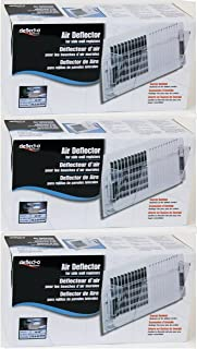 3-Pack Bundle - Deflecto Wall Register Air Deflector