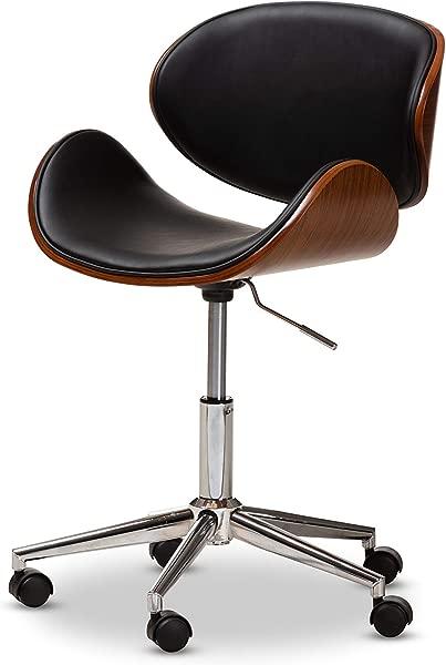 Baxton Studio 150 9120 AMZ Office Chairs One Size Black