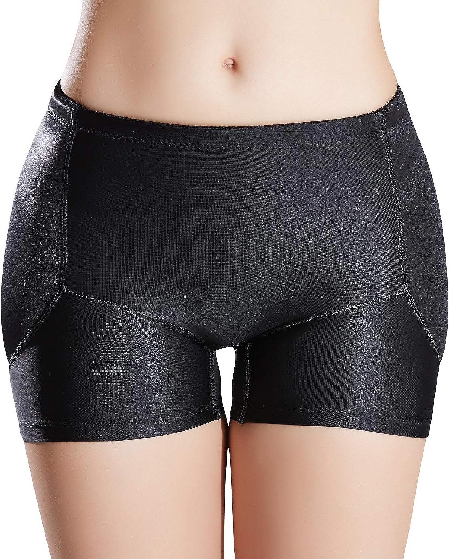Defitshape Women's Padded Seamless Shapewear Panties Hip Enhancer Underwear Shaper Shorts