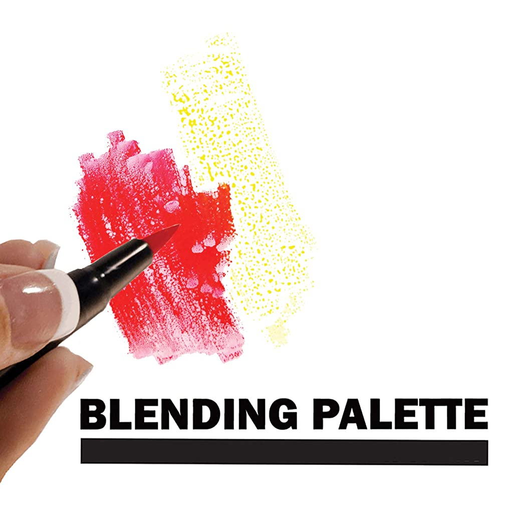 Tombow 56174 Blending Palette with Color Chart, White