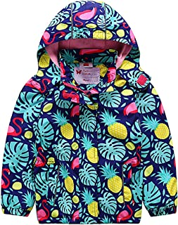 Kids Boy Girl Waterproof Fleece Jacket Coat Warm Outdoor Sport Windproof Windbreaker