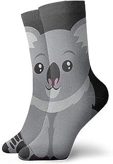 MayBlosom, Australia Koala Bear - Calcetines divertidos para hombre y mujer, estilo informal, sin mostrar