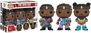 Pop Funko Vinyl WWE Nuevo Día Booty OS 3Pack–Woods, Big E y Kofi
