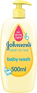 JOHNSON'S Baby, Baby Wash, Head-To-Toe, 500ml