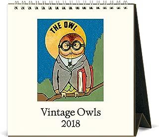 Best owl desk calendar 2018 Reviews