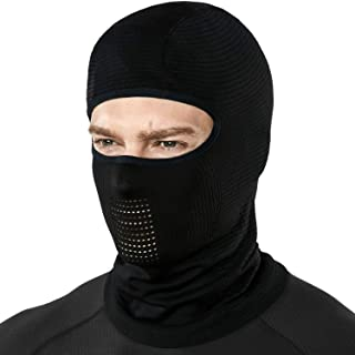 TSLA Winter Balaclava Mask Face Cover Thermal Fleece Helmet Liner Unisex