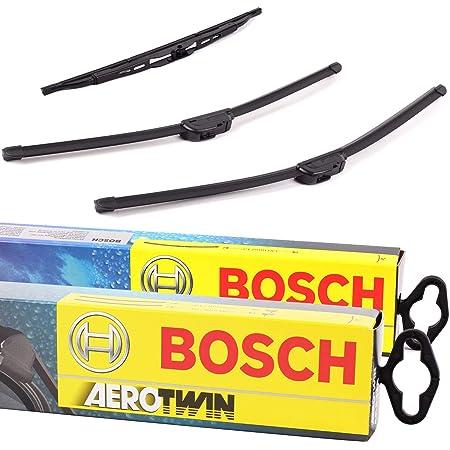 3x Scheibenwischer Vorne Hinten Bosch Aerotwin B Aero Ar653s H309 Auto