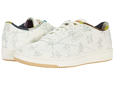 Reebok Lifestyle Reebok X Kung Fu Panda Club C 85 (Classic White/Paper White/Pebble) Shoes