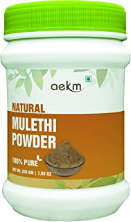 Mulethi   Licorice   Yastimadhu Powder -200 gm (7.05 Oz)