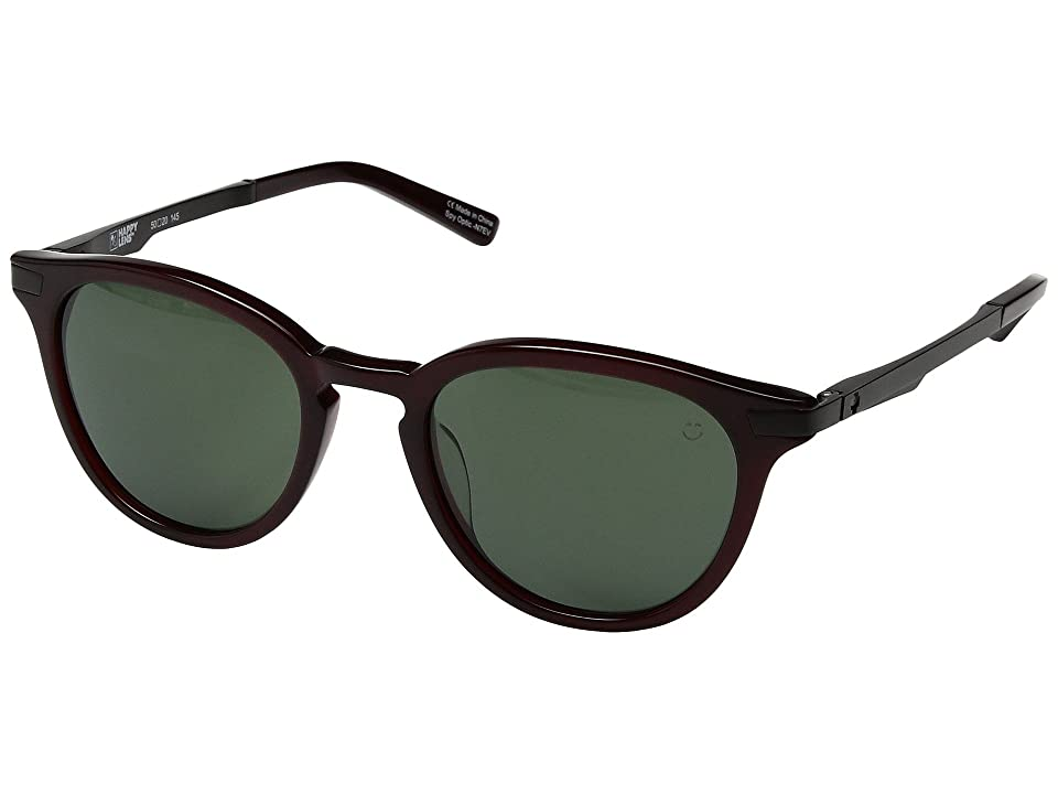 Spy Optic Pismo (Translucent Garnet/Happy Gray Green) Sport Sunglasses