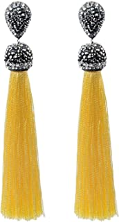 white tassel earrings australia