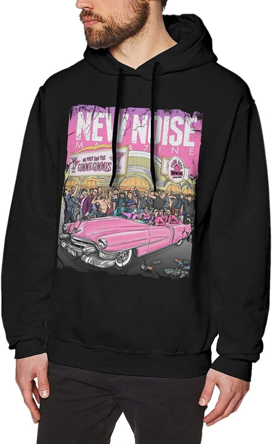 Adults Product Man's Me First and The Hooded Courier shipping free Sweatshirt Gimme Gimmes Lon