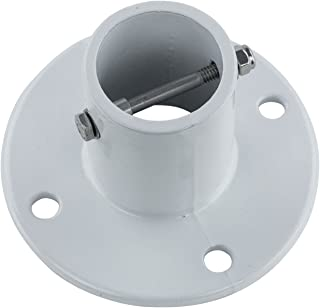 (New pool repl parts) Inter-Fab City 2 In-Ground Swimming Pool Aluminum Deck Flange for Slide-Qty 1