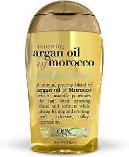 OGX Renewing + Argan Oil of Morocco Penetrating Hair Oil Treatment, Moisturizing & Strengthening Silky Hair Oil for All Ha...
