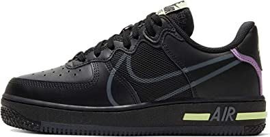 Nike Air Force 1 React GS Trainers Cd6960 Sneakers Shoes