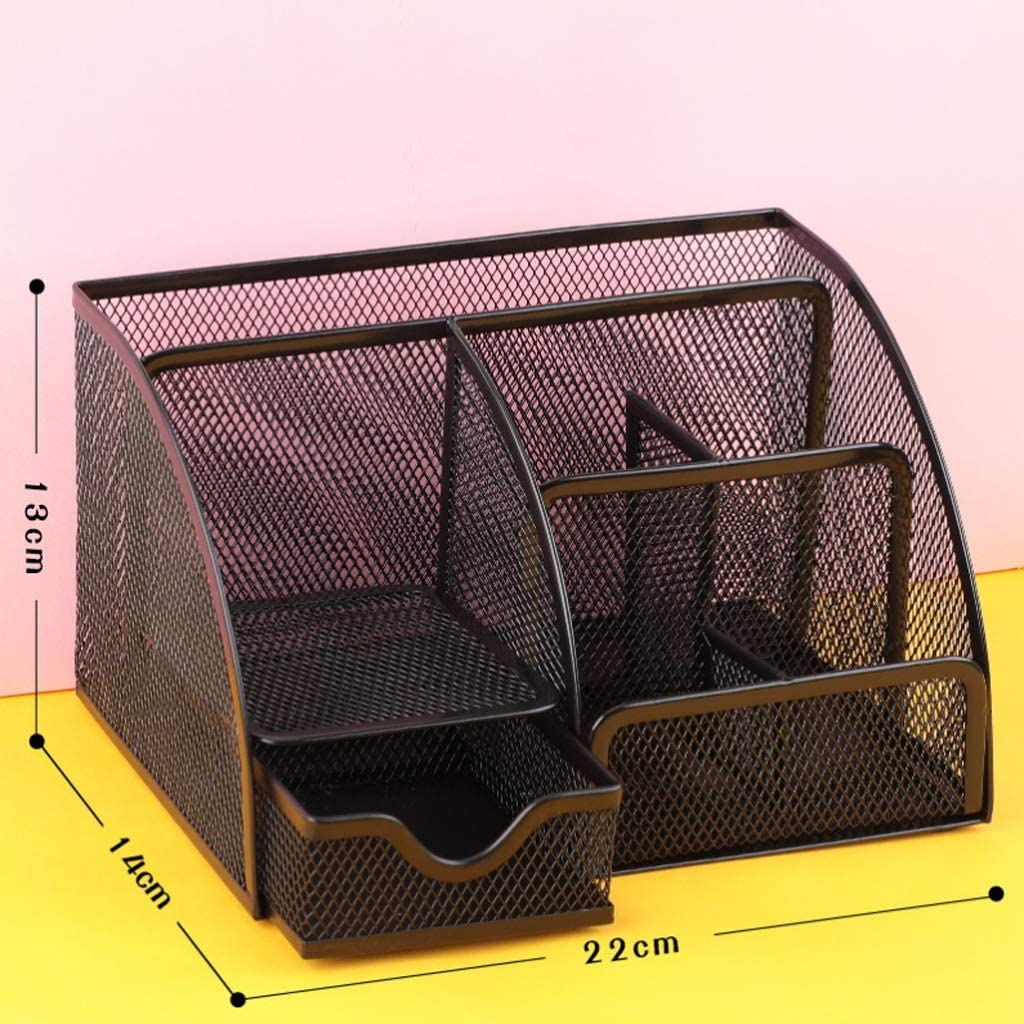 RXF Mesh Desk Super-cheap Organizer Office 4 years warranty Supplies with Holder Pencil Caddy