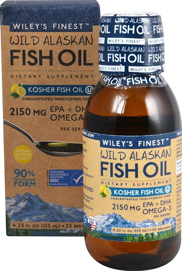 Wild Alaskan Kosher Fish Oil