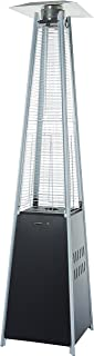 AmazonBasics Outdoor Pyramid Patio Heater, Black