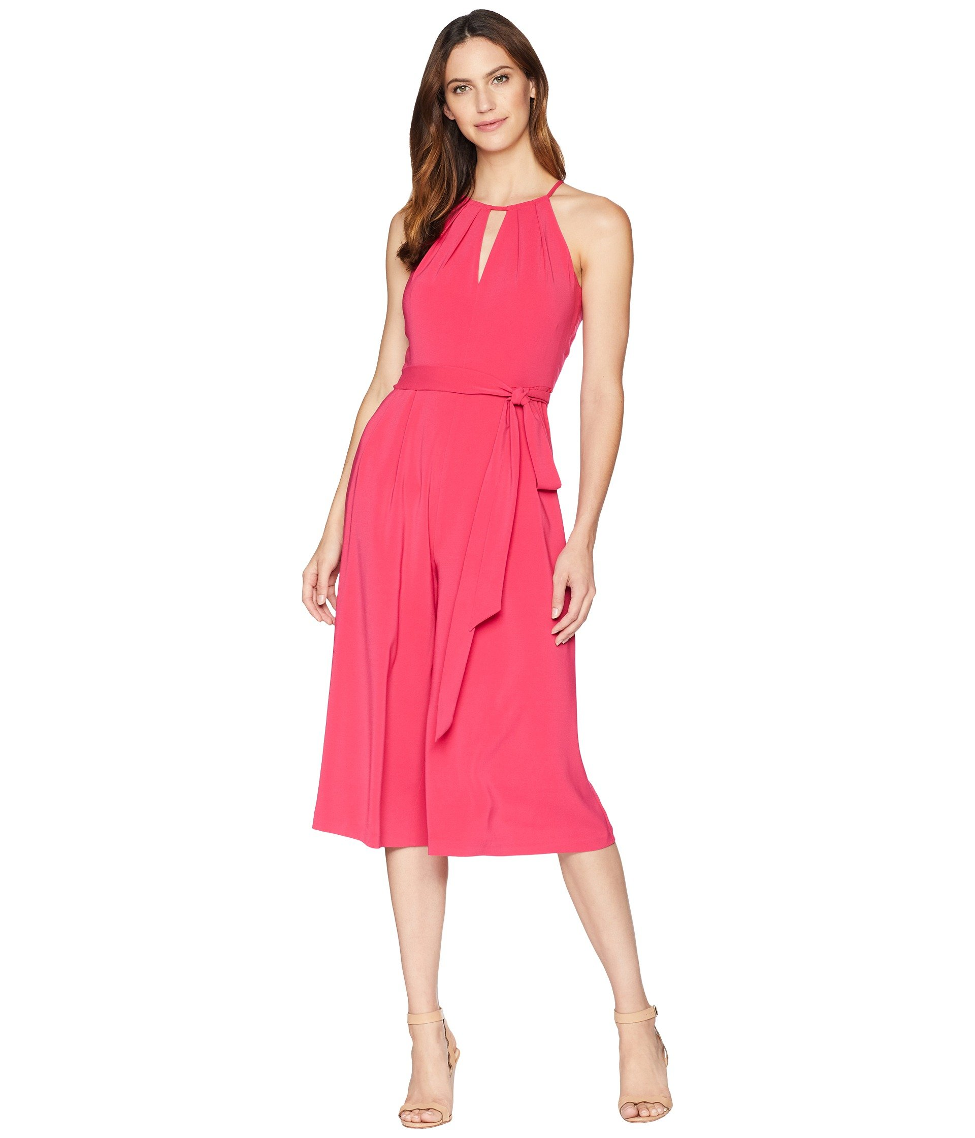 Enterizo para Mujer Vince Camuto Satin Back Cropped Jumpsuit with Keyhole  + Vince Camuto en VeoyCompro.net