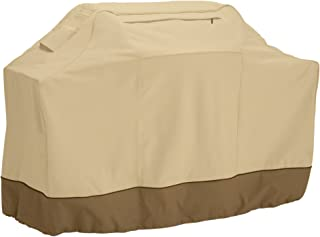 Classic Accessories Veranda Grill Cover, Medium Small, Pebble