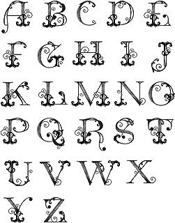Spellbinders French Alphabet Ooh La Collection Stamp Set