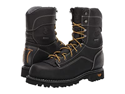 Georgia Boot AMP LT Low Heel Logger 9 Waterproof (Black) Men