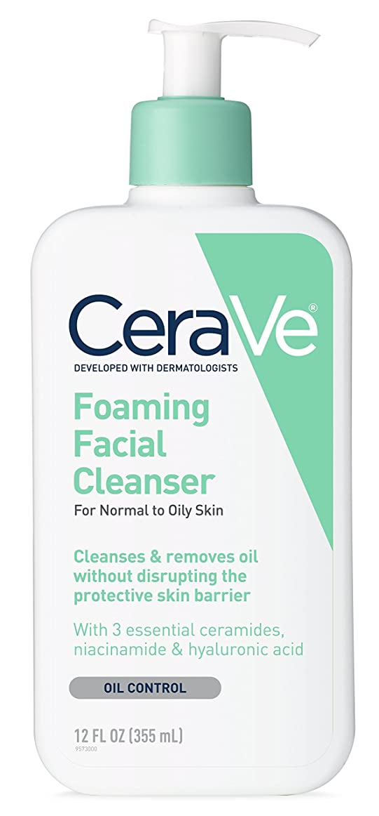 理論的崖カカドゥ海外直送品Cerave Cerave Foaming Facial Cleanser, 12 oz