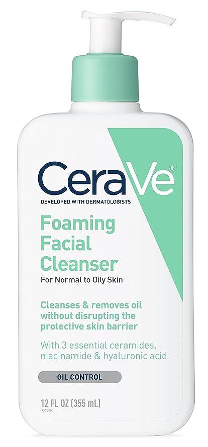 工場プロポーショナル腐敗した海外直送品Cerave Cerave Foaming Facial Cleanser, 12 oz