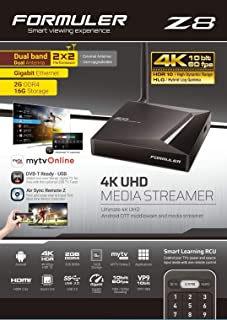 Formuler S Turbo 4K Ultra HD Ricevitore satellitare IPTV 1x PremiumX PX150-MEGA WLAN Stick
