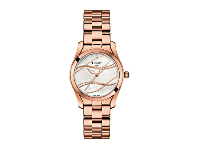 Tissot T-Wave T1122103311100 (Silver/Rose Gold) Watches