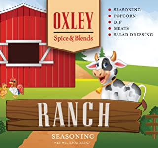 Ranch Seasoning 11 Ounce, Dip, Salad Dressing for Vegetables, Popcorn, Chicken and Pork