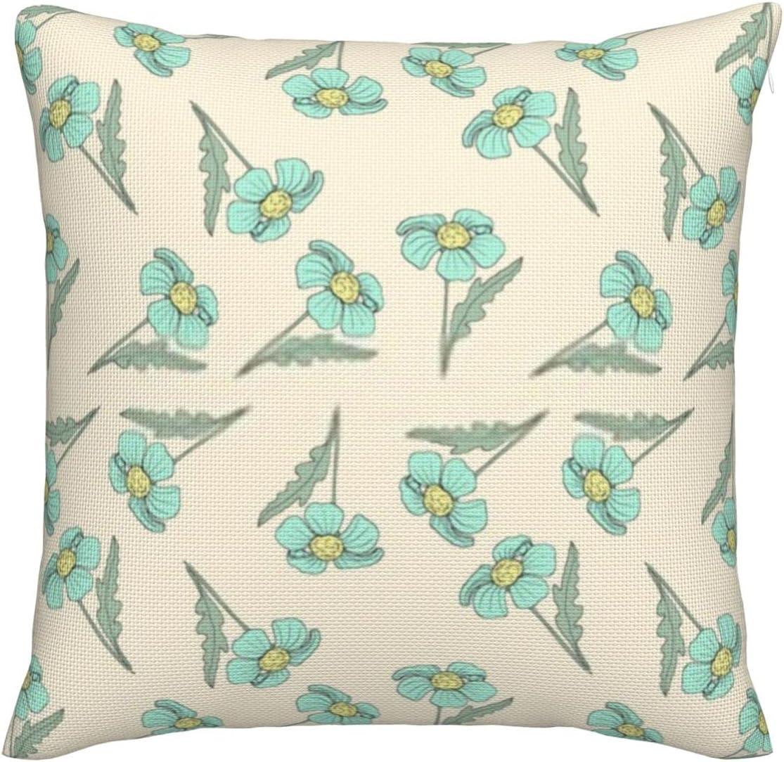 Floral Pattern Pillow Covers Super sale period limited online shop 18x18 Decorative Premi Pillowcases
