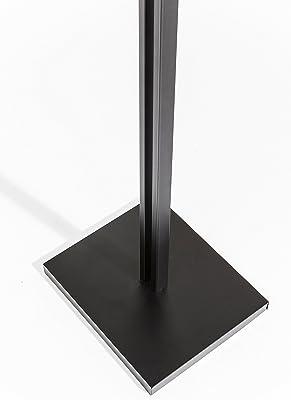 Cromo de Metal 36/x 36/x 173/cm Aspect Compton Libre /Árbol//Perchero de pie