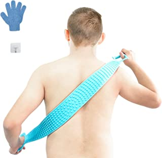 Silicone Back Scrubber for shower,30