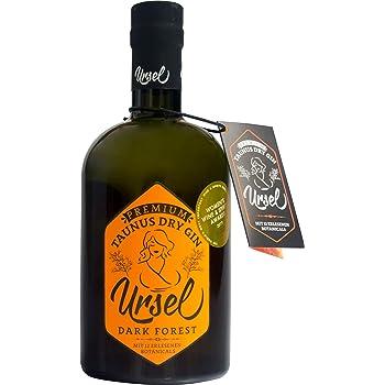 """Premium Taunus Dry Gin""""Ursel"""" Dark Forest - Harmonischer Gin mit frischen Wald- und Zitrusnoten – London Dry Gin Tradition"""