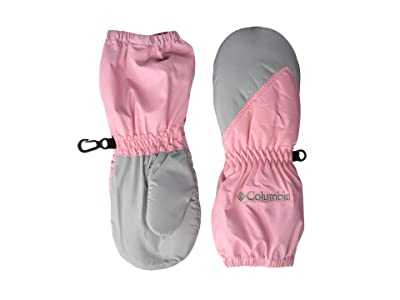 Columbia Kids Chippewatm Long Mitten (Toddler) (Pink Orchid/Columbia Grey) Extreme Cold Weather Gloves