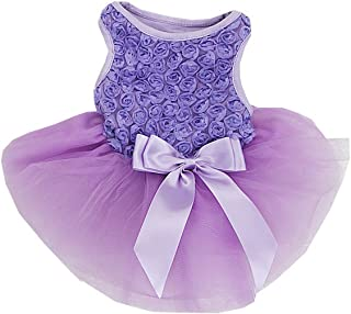 Best lavender dog dress Reviews