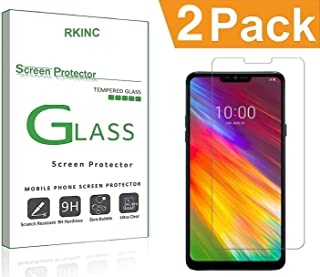 Bundle of 2, RKINC forPocophone F1Screen Protector, Crystal Clear Tempered Glass Screen Protector [9H Hardness][2.5D Edg...