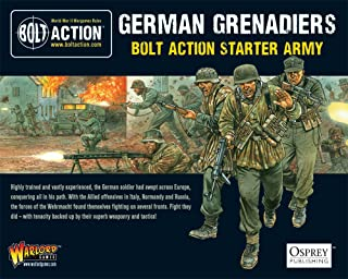 GERMAN GRENADIERS STARTER ARMY - 28mm Bolt Action Wargaming Miniatures
