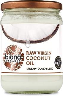 Biona Organic Raw Virgin Coconut Oil, 400g