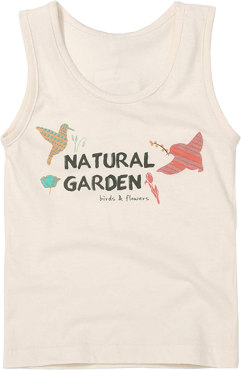 WithOrganic Undershirt Tank Top   100% Organic Cotton   Comfortable, Breathable, Gentle Snug Fit   for Girls and Boys.