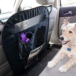 Furhaven Pet Car Barrier | Universal Adjustable Car Safety Vehicle Travel Barrier & Backseat Storage Organizer for Dogs & ...