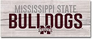 NCAA Fan Shop Mississippi State Bulldogs Legacy Mini Table Top Stick 2.5x6, One Size, Wood