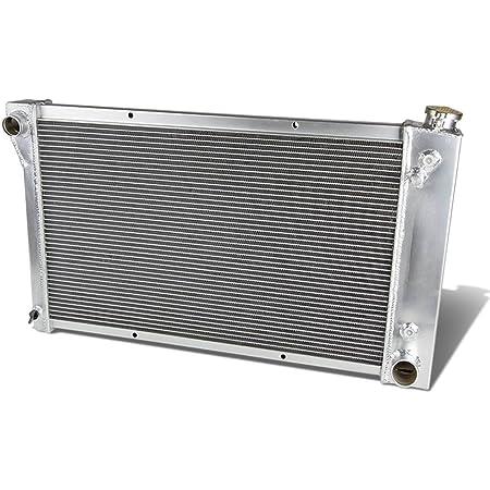 DNA Motoring RA-CHEVYT67-L6-3 3-Row Full Aluminum Radiator