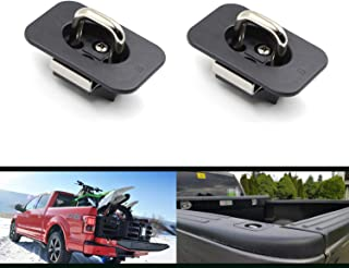 Tie Down Anchors Truck Bed Side Wall Anchors Hook Ring Fits Ford F-150 2017-2015 / Ford F-250 F-350 Super Duty 2017 2pcs