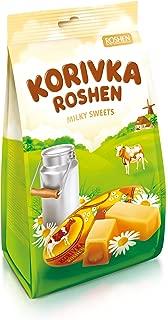 Korivka Roshen Milky Sweets, 205g, Product of Ukraine