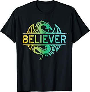 Believer T-Shirt Trending Dragon Tee Shirt